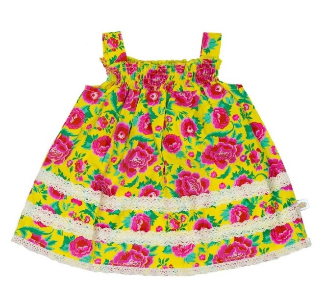 Rosie Pope Floral Tank - Cute Baby Clothes Under $20 From Nordstrom's Half-Yearly Sale