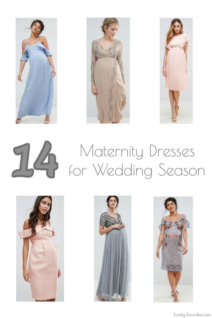 14 Maternity Dresses For Wedding Season