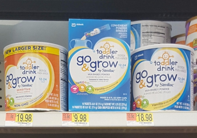 Toddler Nutrition with Go & Grow by Similac Pouches & Toddler Drink