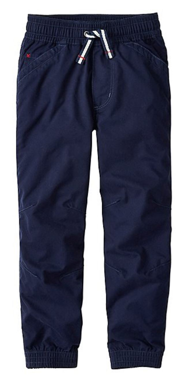 Hanna Andersson End Of Season Sale - Picks Under $20 - Boys Canvas Joggers