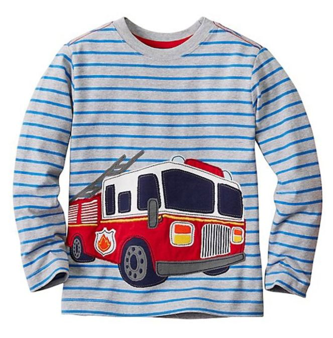 Hanna Andersson End Of Season Sale - Picks Under $20 - Boys Get Appy Appliqué Tee In Supersoft Jersey