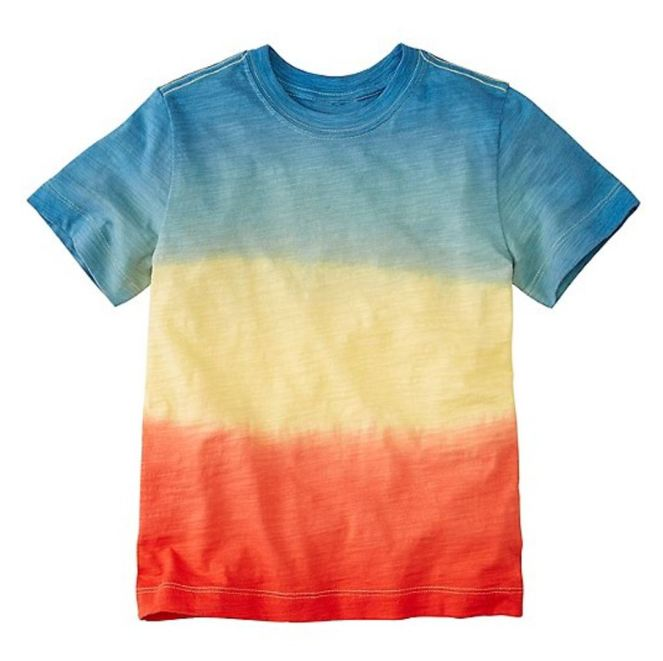 Hanna Andersson End Of Season Sale - Picks Under $20 - Boys Slub Jersey Dip Dye Tee