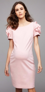 Pietro Brunelli Ruffled Maternity Dress