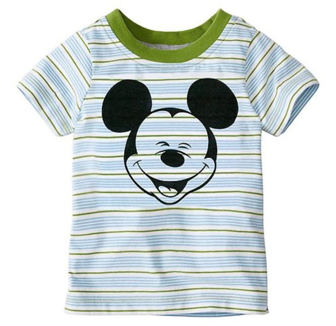 Hanna Andersson End Of Season Sale - Picks Under $20 - Toddler Disney Mickey Mouse Tee In Supersoft Jersey