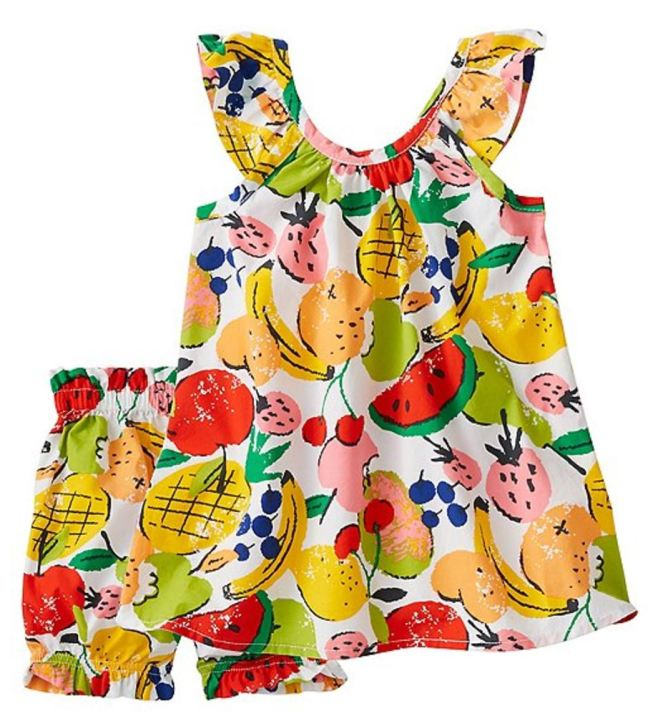 Hanna Andersson End Of Season Sale - Picks Under $20 - Toddler Ruffle Sundress & Bloomer Set