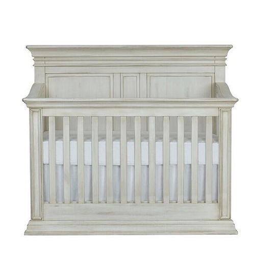 5 White Cribs For Girl Nursery - Baby Cache Vienna 4-in-1 Convertible Crib - Antique White